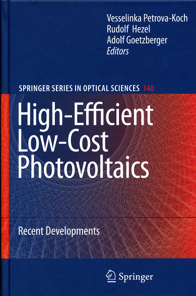 High-Efficient Low-Cost Photovoltaics. (Springer Series in Optical Sciences)