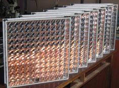 50x50 cm concentraror modules